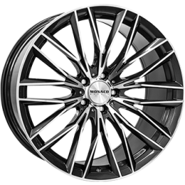 Monaco GP2 anthracite polished 20x10