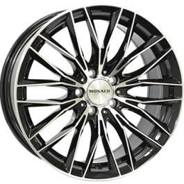 Monaco GP2 black polished 19x8,5