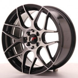 Japan Racing JR18 17x8 black machined