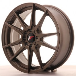 Japan Racing JR21 17x8 matt bronze