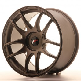 Japan Racing JR29 16x8 blank matt bronze