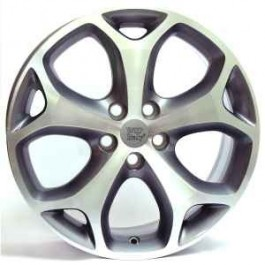 WSP Italy Mexico-Max 18x8 5x108 ET55 63,4 anthracite polished