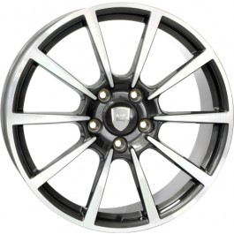 WSP Italy Legend 20x10 5x130 ET45 71,6 anthracite polished