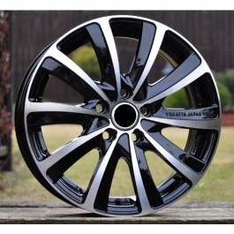 Racing Line RLMO22 black polished 15x6
