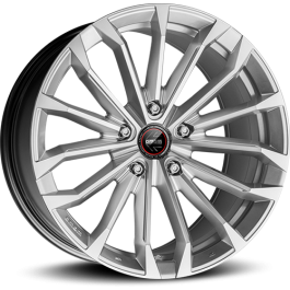 Momo RF-03 19x9 silver polished