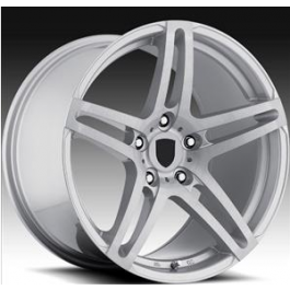 SAS Concave AV5 19x8,5 Silver Brushed Face