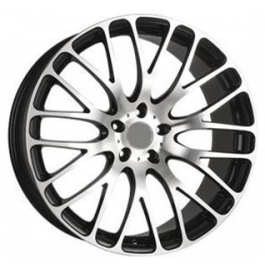 SAS Pitone 19x9,5 Gloss Black-Polished Face