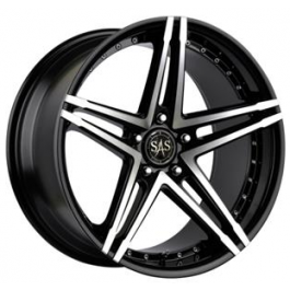 SAS Concave Twin 18x8 Black Polished