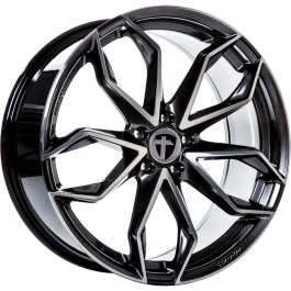 Tomason TN22 hyper black polished 18x8