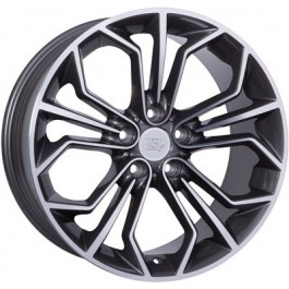 WSP Italy Venus 18x8 5x120 ET30 72,6 anthracite polished