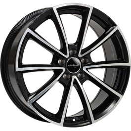 WheelWorld WH28 19x8,5 Black Polished