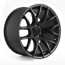 3SDM 001 18x8,5 Matt Black