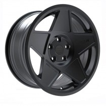 3SDM 005 18x8,5 Matt Black