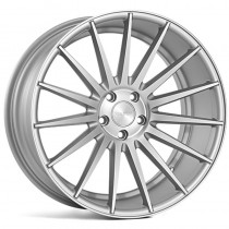 Veemann VC7 20x10 Matt Silver Machined