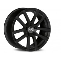 MSW 22 17x8 matt black