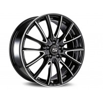 MSW 18x7,5 black full polished