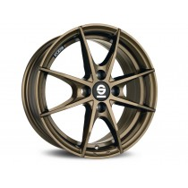 Sparco trofeo 4 17x7 gloss bronze