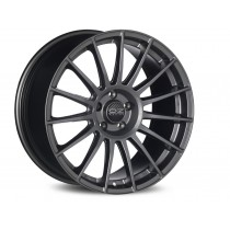 OZ Superturismo LM 17x7 matt graphite