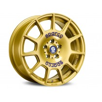Sparco terra 17x7,5 race gold