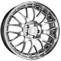 Inter Action Mesh II inox 18x9 hyper silver stainless steel lip