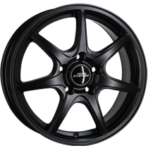 Inter Action black ice 15x6 matt black