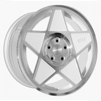 3SDM 005 18x9,5 White Polished