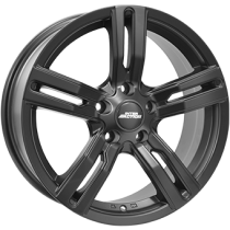 Inter Action kargin 18x8,5 matt black fully painted for vans