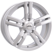 Inter Action kargin 16x6,5 silver for vans