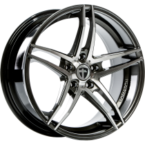 Tomason TN12 18x8,5 dark hyperblack polished