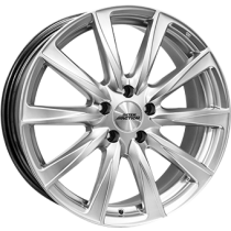 Inter Action off-road 17x8 silver for 4WD with PCD 6 holes only