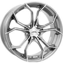 Inter Action Twist 17x8 anthracite polished