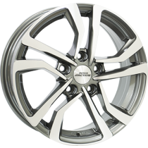 Inter Action Nova 16x6,5 anthracite polished
