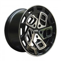 RADI8 R8CM9 18x8,5 Black Polished