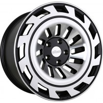 RADI8 R8B12 20x8,5 Black Polished