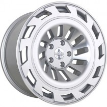 RADI8 R8T12 19x10 Silver Polished