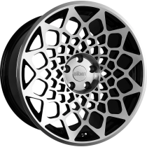 RADI8 R8B12 19x10 Black Polished