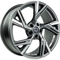 Tomason AR1 20x9 anthracite polished