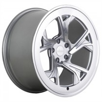 RADI8 R8C5 18x9,5 Silver Polished