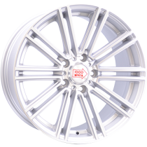 Mille Miglia 1005 18x8,5 matt silver polished front