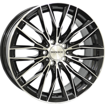Moanco GP2 black polished 19x9,5