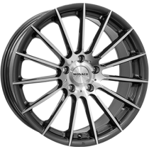 Monaco Formula anthracite polished 17x7,5