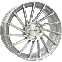 Monaco Turbine grey polished 18x8