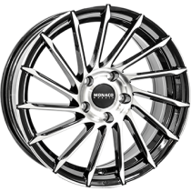Monaco Turbine black polished 19x8,5