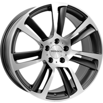 Monaco GP3 anthracite polished 19x8,5
