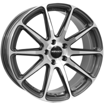 Monaco Pole Position 18x7,5 gunmetal polished