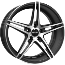 Monaco Portier 19x9,5 matt anthracite polished front