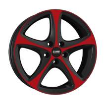 CMS C12 18x8 Red Black gloss