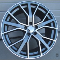 R Line ABK5131 anthracite polished 20x9 5x112 ET33 66,45