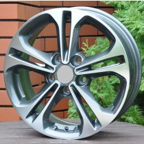R Line HYA5208 grey polished 15x6,5 5x114,3 ET45 67,1