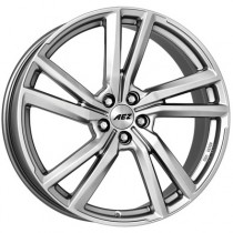 AEZ North high gloss 18x8 5x112  ET40 silver